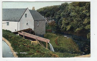 THE MILL, SEAMILL: Ayrshire postcard (C8105)