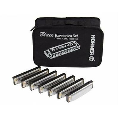 Hohner Set 7 Armoniche Blues C/borsa