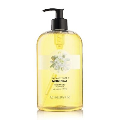 Body Shop Sale ◈ MORINGA ◈ Shower Gel ◈ Soap-free Lather-rich ◈ Jumbo 750ml
