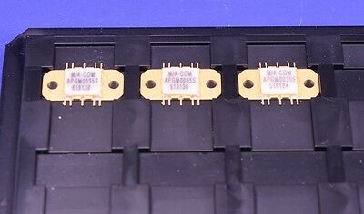 (3) M/A Com S C-Band 1.6W 2.5-5.5 GHz RF Power Amplifier MAAPGM0035 Microwave