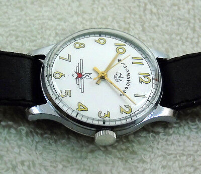 USSR Russian mens' watch SHTURMANSKIE   15 jewels #429