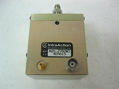 IntraAction Corp AQS-276CW2  Acousto-Optic Q-Switch