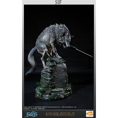 Darksouls Sif The Great Grey Wolf Statue FIRST4FIGURES
