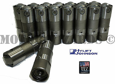 HYLIFT Hydraulic Roller Lifters Set/16 for Chevy 5.3 5.7 6.0 LS1 LS2 LS7 US-MADE
