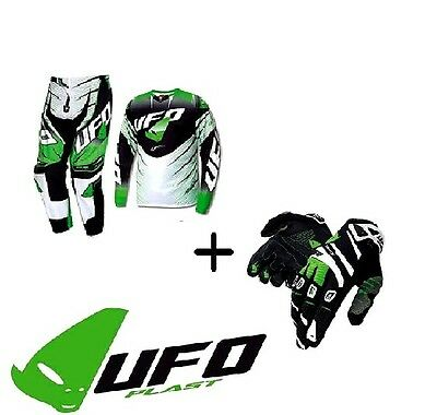 Kit Completo Ufo Cross Voltage Xxl+54 + Guanti Ufo Trace Tg Xl Cross Enduro