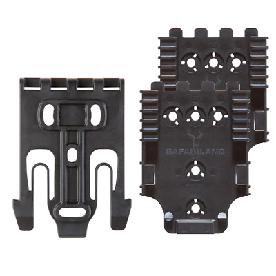 Safariland QUICK-KIT4-2 Black Quick Locking System For Holster/Accessory QLS22
