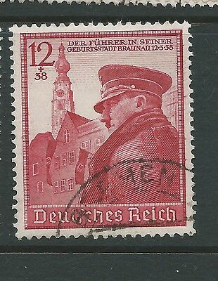 GERMANY 1939 50th BIRTHDAY USED CATGB£6.25