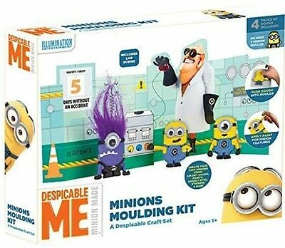 Despicable Me Make Your Own Minions Moulding And Paint Kit Craft Toy