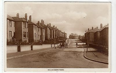 WELLMEADOW ROAD, EASTWOOD: Glasgow postcard (C9735)