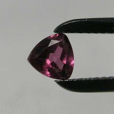Echter Roter Rhodolith Trilliant 0.3ct 3.7mm