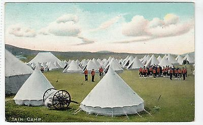 TAIN CAMP: Ross-shire postcard (C10745)