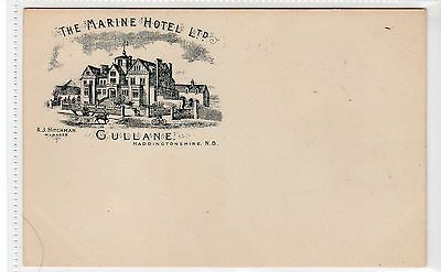 THE MARINE HOTEL, GULLANE: East Lothian postcard (C10502)