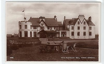 F.H.A. TANTALLON HALL, NORTH BERWICK: East Lothian postcard (C10505)