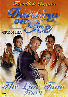 Dancing On Ice Live Tour 2008 Dvd - Torvill & Dean Tv Reality Celebrity Skating