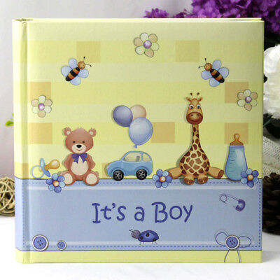 Baby Boy Blue Toy Photo Album - 200 Photo | Newborn | Baby Shower | Keepsake