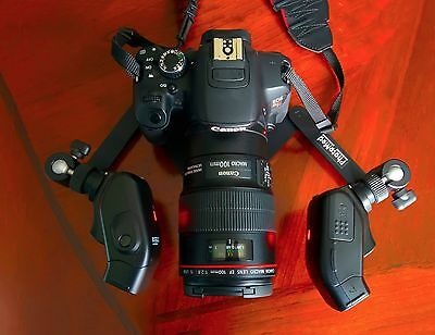 Dental photography, flash and stand, macro photography, Photomed bracket