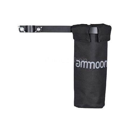 ammoon Drum Stick Holder Drumstick Bag 600D with Clamp for Drum Stand D1J5