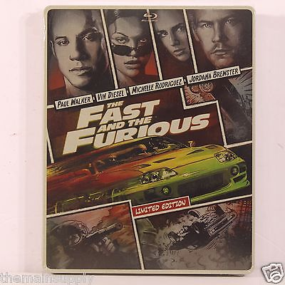 The Fast & The Furious Blu-ray Disc Steelbook