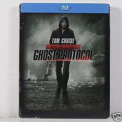 Mission: Impossible - Ghost Protocol Blu-ray Disc Steelbook