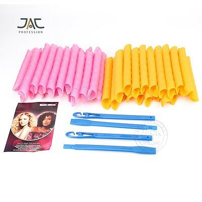 Curl DIY Hair Curlers Tool Styling Rollers Spiral Circle Magic Rollers 40PCS/SET