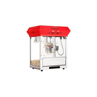 Popcorn Machine Tabletop Red