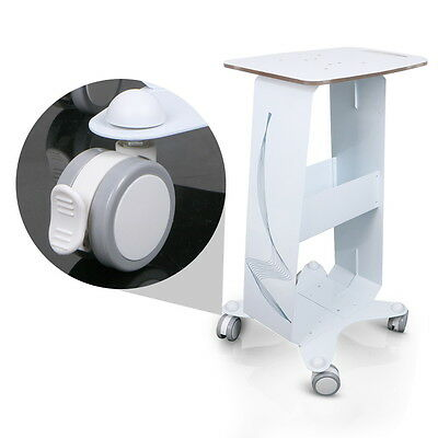 New Steel Frame Trolley Cart Rolling Stand Tray For Cavitation IPL Laser Machine