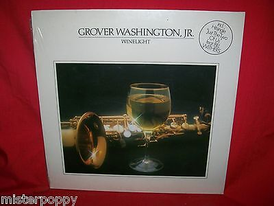 GROVER WASHINGTON JR Winelight  LP 1980 GERMANY SEALED MINT Feat. Bill Withers