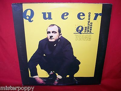 """QUEER The Wolfgang Press LP + 12"""" 45rpm  1991 ITALY MINT- + Insert"""