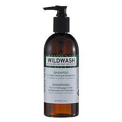 WildWash Deep Clean Deodorising Shampoo - Puppy Dog or Cat Grooming 300ml