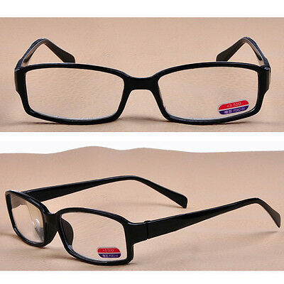+1.00-+4.00 Black Reading Glasses Plastic Delicate Clear Lens Durable