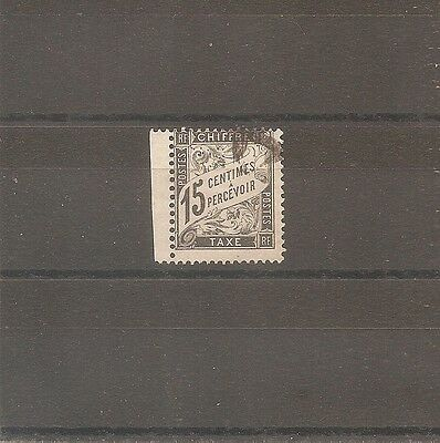 Classique Timbre France Frankreich 1881 Taxe N°16 Oblitere Used Cote 12 Euros