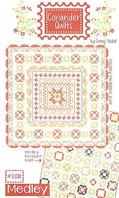 Coriander Quilts by Corey Yoder Medley Layer Cake and Yardage Quilt Pattern