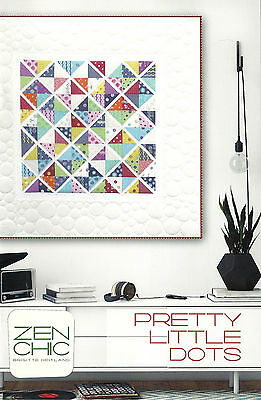 Zen Chic Pretty Little Dots Paper Charm Pack Friendly Quilt Pattern