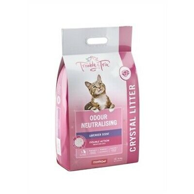 Trouble & Trix Odour-Neutralising Fresh Scent Crystal Cat Litter 7 Litres