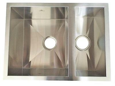 1.5 Bowl Brushed Stainless Steel Undermount Kitchen Sink LEFT or RIGHT - 237