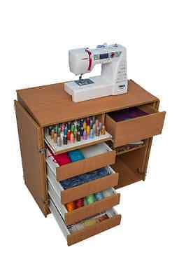 Sewing Machine Cabinet Boxes Storage Basket Bobbin Comfort Variations Of Colours
