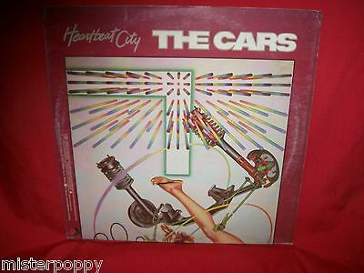 THE CARS Heartbeat City LP 1984 ITALY First Pressing MINT- Inner