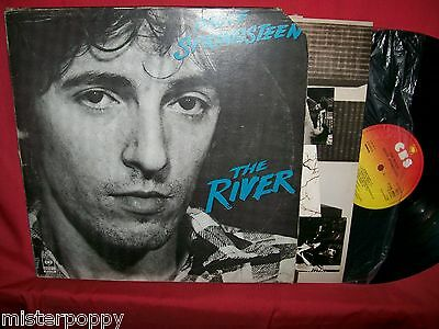 BRUCE SPRINGSTEEN The River Doppio LP 1980 UK MINT- Inners