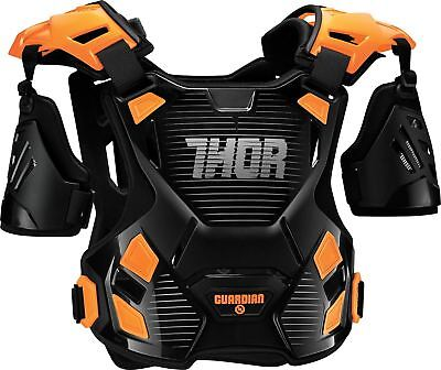2017 Thor Guardian Chest Protector Body Armour Black/Orange MX Motocross