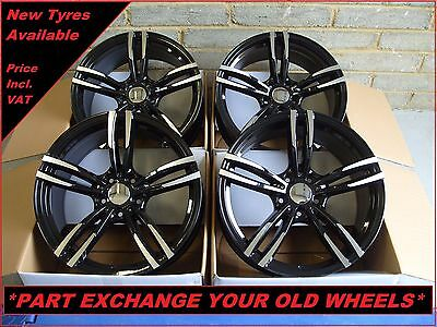 "1780 Brand New 19"" Alloy Wheels To Fit BMW 1 2 3 Series E90 F30 4 5 Series 5x120"