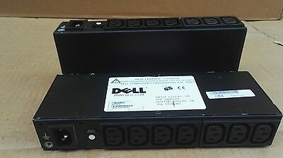 2 LOT OF DELL PDU Power Distribution Unit 7-port Model 4T267 for Cabinets