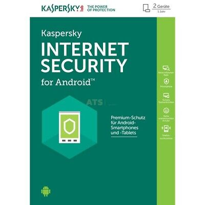 Kaspersky Mobile Security for Android Vollversion ESD 2 User 1 Jahr 2018
