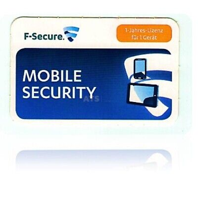 F-Secure Mobile Internet Security for Android 1 Gerät EFS PKC 1 Jahr