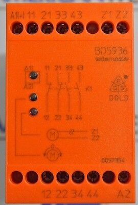 Dold BD5936.17/001/61 AC/DC 24-60V Safety Relay New in Box