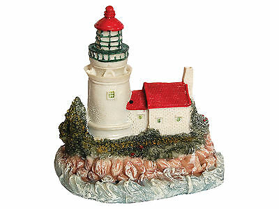 Aquarium Decoration Lighthouse New Polyresin Tropical Marine Fish Tank AQ28145