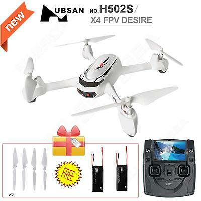 Hubsan X4 H502S RC Quadcopter 5.8G FPV GPS Altitude Mode+2 More Battery&4xBlades