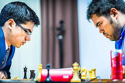 """The 2016 Sinquefield Cup Official Chess Set - Pieces Only - 3.75"""" King - DGT-Ena"""