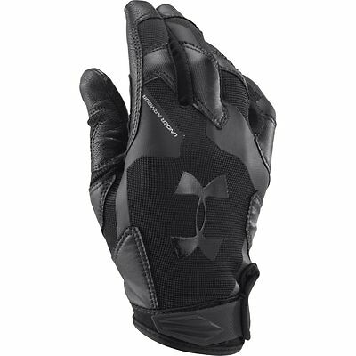 UNDER ARMOUR NEW Men's Gloves Black UA Renegade BNWT
