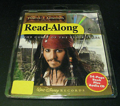 Disney Read-Along Pirates of the Caribbean 2006 The Curse of the Black Pearl