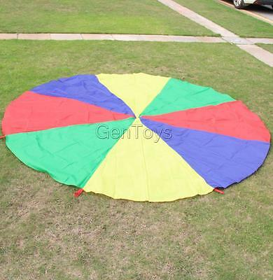 4M Kids Play Rainbow Parachute Outdoor Game Family Exercise Sport Toy Gift